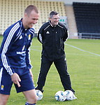 Smiles all round at Scotland training this afternoon