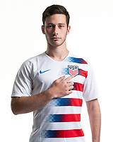 Rome, GA - Friday, June 21, 2019:  Para 7 USMNT headshot of Ben Lindau.