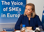 Brussels-Belgium - January 27, 2016 -- Mag Ulrike RABMER-KOLLER, President of UEAPME (European Association of Small and Medium-sized Enterprises), and Vice-President of Austrian Federal Economic Chamber (WKÖ) during a press breakfast at UEAPME -- Photo: © HorstWagner.eu