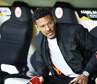 Sebastien Haller (Eintracht Frankfurt) - 18.04.2019: Eintracht Frankfurt vs. Benfica Lissabon, UEFA Europa League, Viertelfinale, Commerzbank ArenaDISCLAIMER: DFL regulations prohibit any use of photographs as image sequences and/or quasi-video.