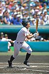 Ryogo Sakamoto (Nobeoka Gakuen),<br /> AUGUST 22, 2013 - Baseball :<br /> 95th National High School Baseball Championship Tournament final game between Maebashi Ikuei 4-3 Nobeoka Gakuen at Koshien Stadium in Hyogo, Japan. (Photo by Katsuro Okazawa/AFLO)1