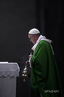 Pope Francis leads a mass for the Jubilee of Inmates,  at St Peter's basilica in Vatican.on November 6, 2016