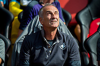 Francesco Guidolin, Manager of Swansea City  looks  on during the Premier League match between Southampton and Swansea City  at St Mary's Stadium in Southampton, England, UK. Saturday 17 September 2016