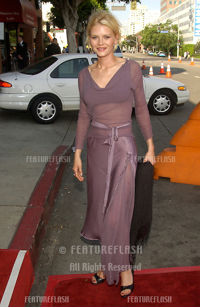 MISSY CRIDER at the Los Angeles premiere of her new movie Gigli..July 27, 2003