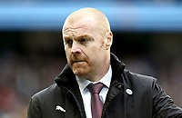 Burnley manager Sean Dyche <br /> <br /> Photographer Rich Linley/CameraSport<br /> <br /> Emirates FA Cup Fourth Round - Manchester City v Burnley - Saturday 26th January 2019 - The Etihad - Manchester<br />  <br /> World Copyright © 2019 CameraSport. All rights reserved. 43 Linden Ave. Countesthorpe. Leicester. England. LE8 5PG - Tel: +44 (0) 116 277 4147 - admin@camerasport.com - www.camerasport.com