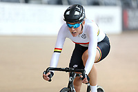 Rushlee Buchanan of Waikato BOP competes in the Elite Women Omnium 2, Tempo Race 7.5km,  at the Age Group Track National Championships, Avantidrome, Home of Cycling, Cambridge, New Zealand, Sunday, March 19, 2017. Mandatory Credit: © Dianne Manson/CyclingNZ  **NO ARCHIVING**