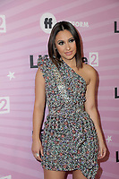 "LOS ANGELES - NOV 27:  Francia Raisa at the ""Life Size 2"" Premiere Screening at the Roosevelt Hotel on November 27, 2018 in Los Angeles, CA"