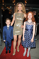 Melanie Masson and her kids at the &quot;Big Fish the Musical&quot; gala performance, The Other Palace, Palace Street, London, England, UK, on Wednesday 08 November 2017.<br /> CAP/CAN<br /> &copy;CAN/Capital Pictures