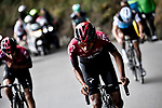 Egan Bernal (COL) Team Ineos attacks on the final climb to win the 103rd edition of GranPiemonte 2019 running 183km from Aglie to Santuario di Oropa (Biella), Italy. 10th Octobre 2019. <br /> Picture: Marco Alpozzi/LaPresse | Cyclefile<br /> <br /> All photos usage must carry mandatory copyright credit (© Cyclefile | LaPresse/Marco Alpozzi)