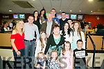 Jennifer Kirby from Duagh celebrating her birthday with family and friends on Saturday night at the Kingdom Greyhound Track
