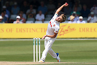 Aaron Beard in bowling action for Essex during Essex CCC vs Warwickshire CCC, Specsavers County Championship Division 1 Cricket at The Cloudfm County Ground on 21st June 2017