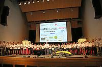 """SPR16 """"Melody"""" wird von Team Capitain Benedikt Langer und dem Team der Scuderia Mensa der Öffentlichkeit im Opel Auditorium vorgestellt"""