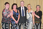 Party: Making the most of the night at the Ballinorig Social in the Manor West Hotel, Tralee, on Friday evening were Kathleen McMullan, Teresa Lehane, Charlie Healy, Ina Healy and Mary Fealy..