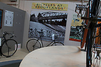 Raleigh Bicycle exhibit , Brooklands motor museum , surrey January 2011.pic copyright Steve Behr / Stockfile