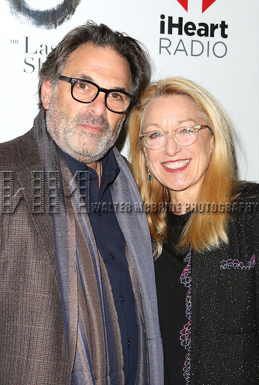 Ken Olin and Patricia Wettig attend the Broadway Opening Night performance of 'The Last Ship' at the Neil Simon Theatre on October 26, 2014 in New York City.
