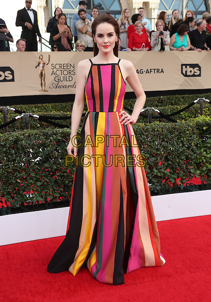 29 January 2017 - Los Angeles, California - Michelle Dockery. 23rd Annual Screen Actors Guild Awards held at The Shrine Expo Hall. <br /> CAP/ADM/FS<br /> &copy;FS/ADM/Capital Pictures