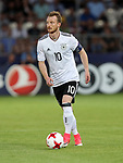 Germany's Maximilian Arnold in action during the UEFA Under 21 Final at the Stadion Cracovia in Krakow. Picture date 30th June 2017. Picture credit should read: David Klein/Sportimage
