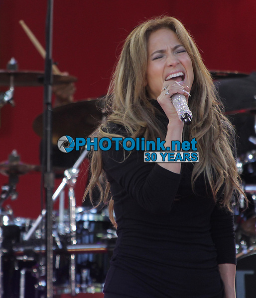 Jennifer Lopez 2014<br /> At the Today Show Rehearsal<br /> Photo By John Barrett/PHOTOlink