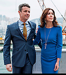 """Hong Kong, 2012-6-12: CROWN PRINCESS MARY AND CROWN PRINCE FREDERIK OF DENMARK.attend the Carl Hansen event at Royal Hong Kong Yacht Club..Mandatory Credit Photo: ©NEWSPIX INTERNATIONAL..**ALL FEES PAYABLE TO: """"NEWSPIX INTERNATIONAL""""**..IMMEDIATE CONFIRMATION OF USAGE REQUIRED:.Newspix International, 31 Chinnery Hill, Bishop's Stortford, ENGLAND CM23 3PS.Tel:+441279 324672  ; Fax: +441279656877.Mobile:  07775681153.e-mail: info@newspixinternational.co.uk"""