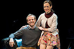 Fernando Ramallo and Lidia Navarro during the theater play of Un Dios Salvaje at Nuevo Teatro Apolo in Madrid. March 09, 2016. (ALTERPHOTOS/BorjaB.Hojas)