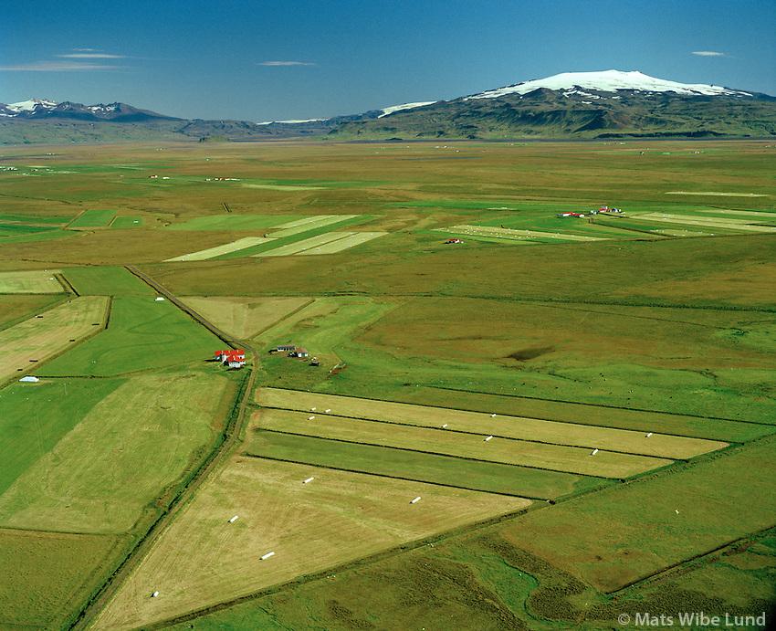 Litla-Hildisey séð til austurs, Rangárþing eystra áður Austur-Landeyjahreppur / Litla-Hildisey viewing east, Rangarthing eystra former Austur-Landeyjahreppur.
