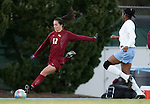 Florida State's Libby Gianeskis (12) on Friday, November 25th, 2005 at Fetzer Field in Chapel Hill, North Carolina. The Florida State Seminoles defeated the University of North Carolina Tarheels 5-4 on penalty kicks after the teams tied 1-1 after overtime during their NCAA Women's Soccer Tournament quarterfinal game.