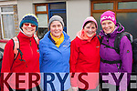 Members of the Sliabh Luachra hill walking club who participated in the charity walk in aid of Kerry Mountain Rescue and Pieta House in Rathmore on Saturday l-r: Liz Griffin, Mary Murray, Margaret Scanlon, Noeleen Mackessy