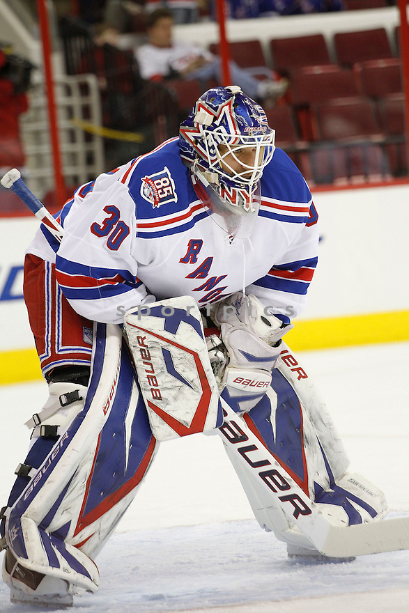 HENRIK LUNDQVIST, of the New York Rangers.