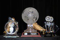 Trophies for DC United awards. DC United 4th Annual Awards Reception honoring player achievements for the 2007 season took place  at the Ronald Reagan Building in Washington, DC on October 22, 2007.