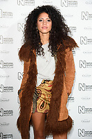 Vick Hope<br /> arriving for the Natural History Museum Ice Rink launch party 2017, London<br /> <br /> <br /> ©Ash Knotek  D3340  25/10/2017