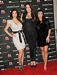 Kim Kardashian,Khloe Kardashian Odom & Kourtney Kardashian at The Kardashian Charity Knock Out held at The Commerce Casino in Commerce, California on November 03,2009                                                                   Copyright 2009 DVS / RockinExposures