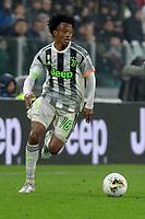 30th October 2019; Allianz Stadium, Turin, Italy; Serie A Football, Juventus versus Genoa; Juan Cuadrado of Juventus on the ball - Editorial Use