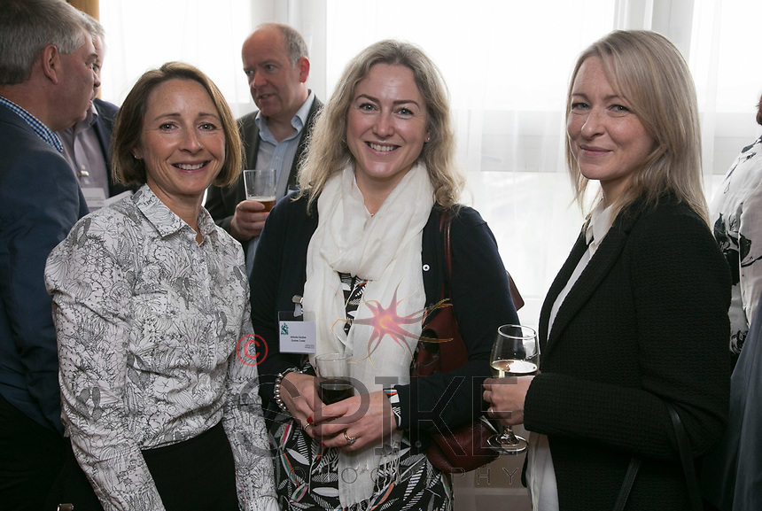 From left are Helen Taylor of Hosta Consulting, Antonia Gardner of Gunner Cooke and Sara Harraway of CPMG Architects