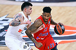 Turkish Airlines Euroleague.<br /> Final Four - Vitoria-Gasteiz 2019.<br /> Semifinals.<br /> CSKA Moscow vs Real Madrid: 95-90.<br /> Gabriel Deck vs Will Clyburn.
