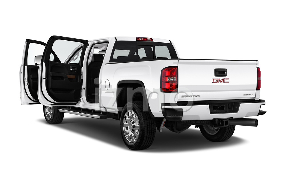 Car images close up view of a 2019 GMC Sierra 2500 Denali 4 Door Pick Up doors