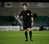 Referee Trevor Kettle<br /> <br /> Photographer Chris Vaughan/CameraSport<br /> <br /> The EFL Checkatrade Trophy Northern Group H - Lincoln City v Wolverhampton Wanderers U21 - Tuesday 6th November 2018 - Sincil Bank - Lincoln<br />  <br /> World Copyright © 2018 CameraSport. All rights reserved. 43 Linden Ave. Countesthorpe. Leicester. England. LE8 5PG - Tel: +44 (0) 116 277 4147 - admin@camerasport.com - www.camerasport.com