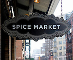 Sign, Spice Market, New York, New York