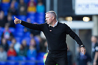 Paul Lambert, Manager of Ipswich Town gives the thumbs up during Ipswich Town vs Preston North End, Sky Bet EFL Championship Football at Portman Road on 3rd November 2018