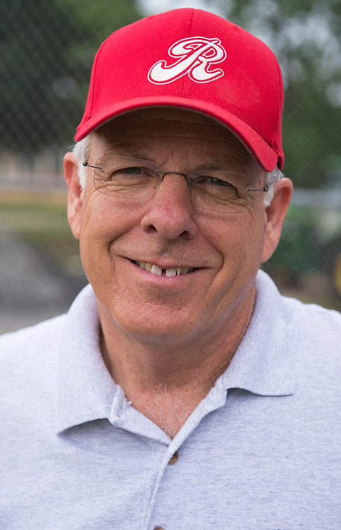 UNITED STATES - JUNE 1:  Rep. Steve Pearce, R-N.M, is photographed at a republican baseball practice at Simpson Stadium in Alexandria, Va.  (Photo By Tom Williams/CQ Roll Call)