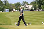 Padraig Harrington on the first hole in the final round of the BMW PGA championship 2010 at Wentworth golf club, Surrey, England..Picture Manus O'Reilly/Newsfile.ie