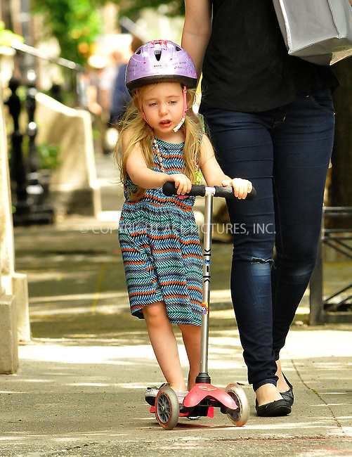 WWW.ACEPIXS.COM......May 23 2013, New York City....Sarah Jessica Parker's daughter Marion Broderick comes home from school in the West Village on May 23 2013 in New York City....By Line: Romeo/ACE Pictures......ACE Pictures, Inc...tel: 646 769 0430..Email: info@acepixs.com..www.acepixs.com