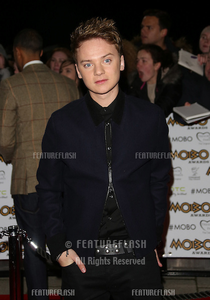 Conor Maynard arriving for The MOBO awards 2012 held at the Echo Arena, Liverpool. 03/11/2012 Picture by: Henry Harris / Featureflash
