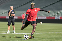 Carson, CA - January 27, 2018: The USMNT trains during their annual January camp in California.