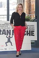 Carmen Machi poses during `Mi gran noche´ film presentation in Madrid, Spain. February 20, 2015. (ALTERPHOTOS/Victor Blanco) /NORTEphoto.com