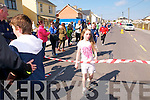 Children's Race : Rebecca Barry, Urlee, Liselton who was the first girl to cross the winning line in the kiddies 1k race in Ballybunion on Saturday last,