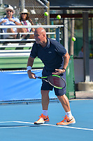DELRAY BEACH, FL - NOVEMBER 05: Luke Jensen participates in the 28th Annual Chris Evert/Raymond James Pro-Celebrity Tennis Classic at Delray Beach Tennis Center on November 5, 2017 in Delray Beach, Florida<br /> <br /> People:  Luke Jensen<br /> CAP/MPI122<br /> &copy;MPI122/Capital Pictures