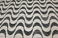 "City Sidewalk. Sao Paulo. (Sao Paulo. BR.) Continental Drift. Color Pencil on paper. 26"" x 40"". Judy Byron. 2014<br /> Photo credit: Rick Reinhard"