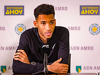 Rotterdam, The Netherlands, 16 Februari 2020, ABNAMRO World Tennis Tournament, Ahoy, Pressconference Felix Auger-Aliassime (CAN),<br /> <br /> Photo: www.tennisimages.com
