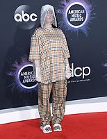 24 November 2019 - Los Angeles, California - Billie Eilish. 2019 American Music Awards - Arrivals held at Microsoft Theater. Photo Credit: Birdie Thompson/AdMedia