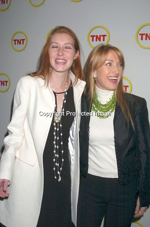 "Jane Seymour and daughter Katie Flynn..at a special screening of ""The Goodbye Girl"" on January 12, 2004 at the Cinema 1 in New York City. It will be seen on TNT"
